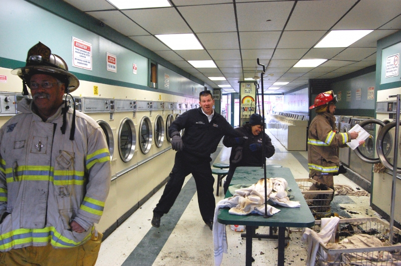 Hamlin Assists Brockport at Laundry Fire.