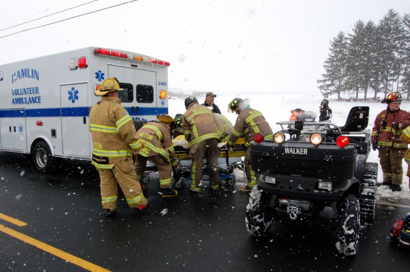 Snowmobile Accident – Trail near East Fork